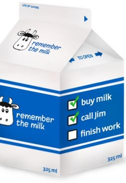 Remember the milk, Gmail y Prism
